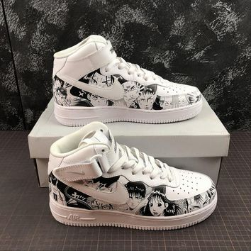 bc798d962412 SLAM DUNK x Nike Air Force 1 CUSTOM Mid Sneakers - Best Online S