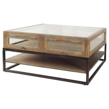Harun square coffee table