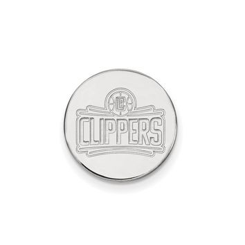 NBA Los Angeles Clippers Lapel Pin in Sterling Silver