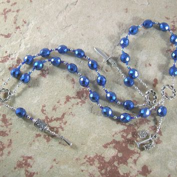 Tyr (Tiwaz) Prayer Beads: Norse God of Justice, Law and War