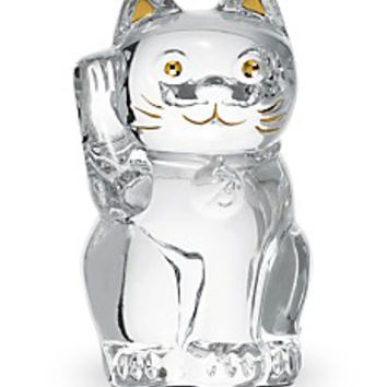 Baccarat Crystal Clear Lucky Cat 2607786