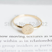 Min 1pc Gold silver round knuckle ring antique ring vintage style rings JZ082