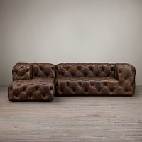 Soho Leather Sectionals | Restoration Hardware