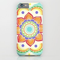 Colorful Mandala  iPhone & iPod Case by Ashley Hillman
