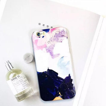 Watercolor phone case for iphone 6 6s 6 plus 6s plus + Nice gift box 080902