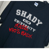 Eminem Fans...SHADY UNIVERSITY Guess Who's Back T Shirt