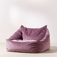 Cooper Velvet Lounge Chair   Urban Outfitters