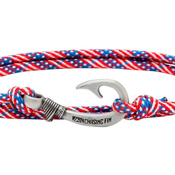 Stars & Stripes Fish Hook Bracelet