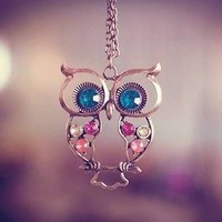 Instafashion — Owl Necklace