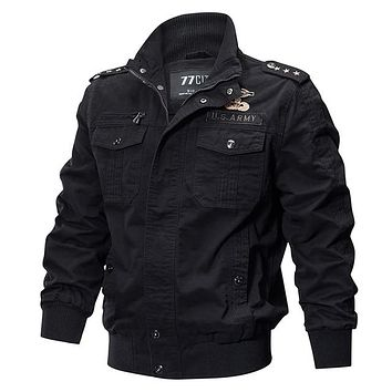 Gear Military Pilot Jackets Bomber Cotton Coat Tactical Army Jacket