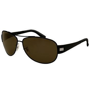 Ray-Ban RB 3467 006-71 63 Unisex Aviator Matte Black Frame Poly Grey Green Polarized L