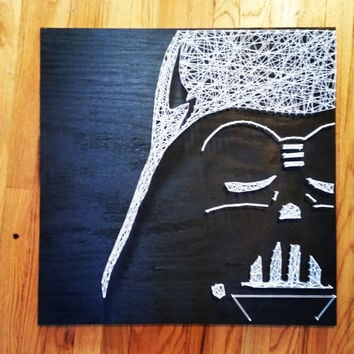 Darth Vader Star Wars String Art