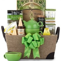 A Spot of Tea Basket - Whimsical & Unique Gift Ideas for the Coolest Gift Givers