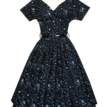 Victoria Dress in The Stars Remember Print