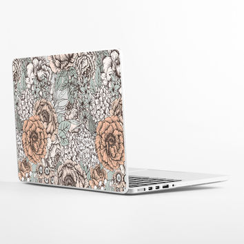 Muted Floral Laptop Skin