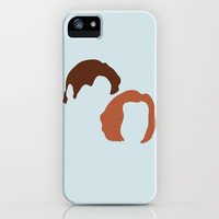 Mulder and Scully, X-Files iPhone Case by Apricot | Society6