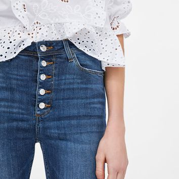 Z1975 JEANS WITH BUTTONS