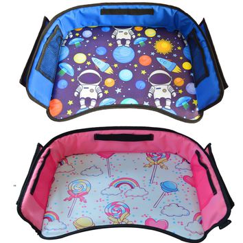 Kids Travel Tray For Boys & Girls By Autozon - FREE 3-5 business days Shipping