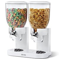 Zevro KCH-06123 Control Dual Dry Food Dispenser
