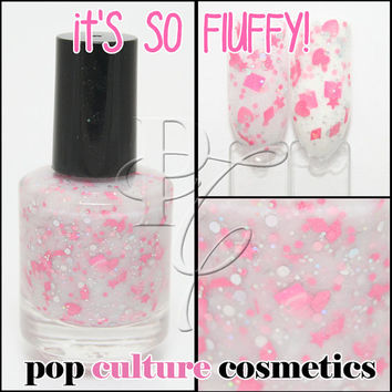 It's So Fluffy Nail Polish Despicable Villain Collection Custom-Blended Glitter - Large Bottle - 15ml