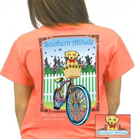 Southern Attitude Preppy This Is How I Roll Bike Dog T-Shirt