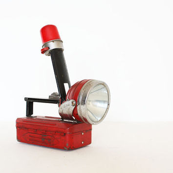 Vintage industrial metal torch / box by AnnaLouVintage on Etsy