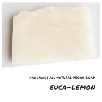 Euca-Lemon Handmade All Natural Vegan Soap Bar