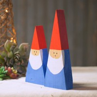 Reclaimed Wood Gnome, Wooden Gnome