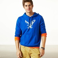 AEO Men's Heritage Fleece (Cobalt Shade)