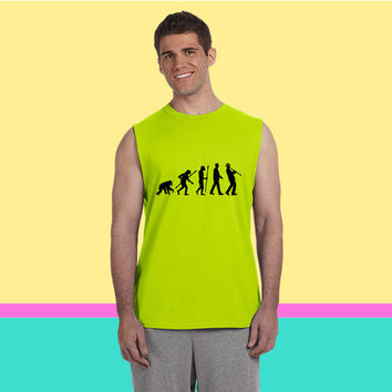 evolution clarinet player 092013 a 1c Sleeveless T-shirt