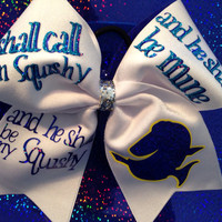 Finding Nemo cheer bow