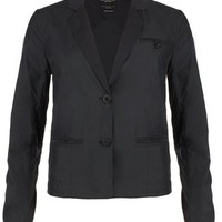 All Saints Women's GOODGE ST. Blazer WJK020 Black US 4 UK 8 STANDARD STYLE $296