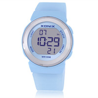 Hot!!! XONIX Fashion Women Sports Watches Waterproof 100m Ladies Jelly LED Digital Watch Swimming Diving Hand Clock Montre Femme
