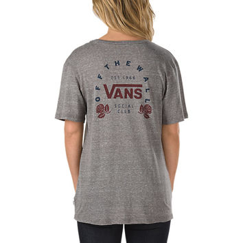 Social Club T-Shirt | Shop Womens Tees at Vans