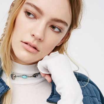 Free People Chasing Rainbows Stone Choker