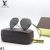 LV Louis Vuitton 2018 new trend trendy pilot polarized sunglasses #1