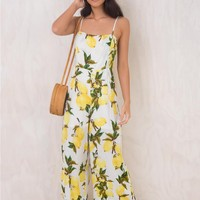 Lemon Dew Jumpsuit