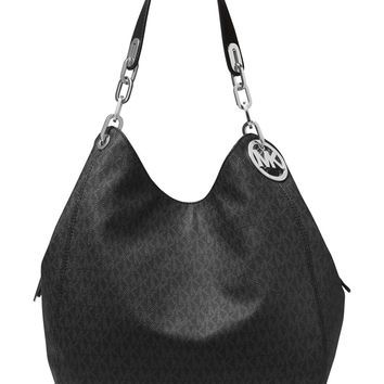 MICHAEL Michael Kors Fulton Large Leather Shoulder Bag
