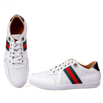 Gucci Man Fashion Edgy Strappy Sports Shoes Sneakers-1