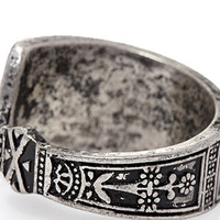 Engraved Open Ring