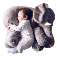 Elephant Pillow Infant Soft Plush
