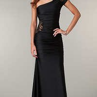 Long Formal One Shoulder Dress by Atria