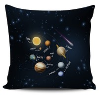 Solar System Pillow Cover