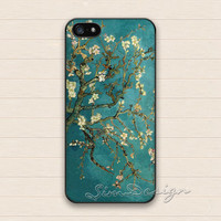 Van Gogh Flower iPhone 5 Case,iPhone 5s Case,iPhone 4 4s Case,Samsung Galaxy S3 S4 Case,Van Gogh Floral Art Hard Plastic Rubber Cover Case