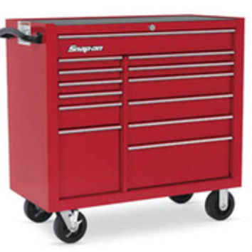 KRA4813FPBO, Roll Cab, 13 Drawers, Red