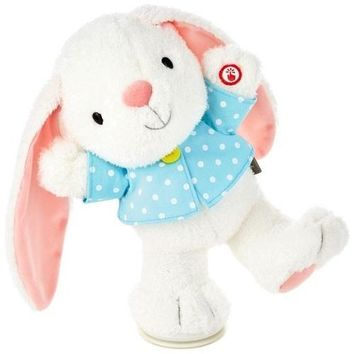 Hoppy Easter! Bunny Musical Stuffed Animal With Motion, 12""