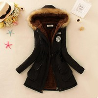 Women's Jackets Outwear Fur Coats A77