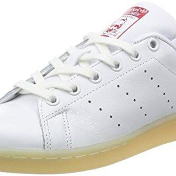 Adidas Originals Stan Smith W womens Trainers Sneakers Shoes (us 8, Off White (Ftwwht/Ftwwht/Colred) S32256)