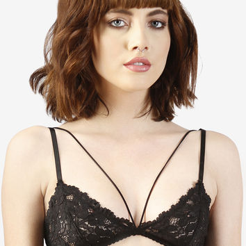 Strap Around Lace Bra