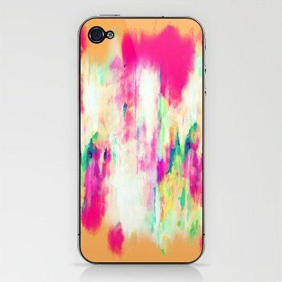 Electric Haze iPhone & iPod Skin by Amy Sia | Society6